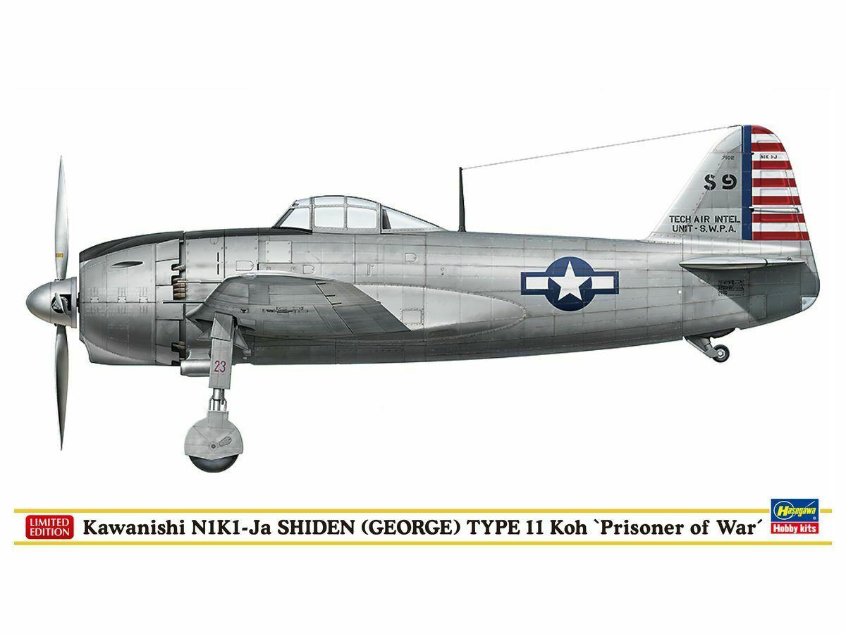 Hasegawa 1/48 N1K1-JA Shiden Type11 Koh SP447