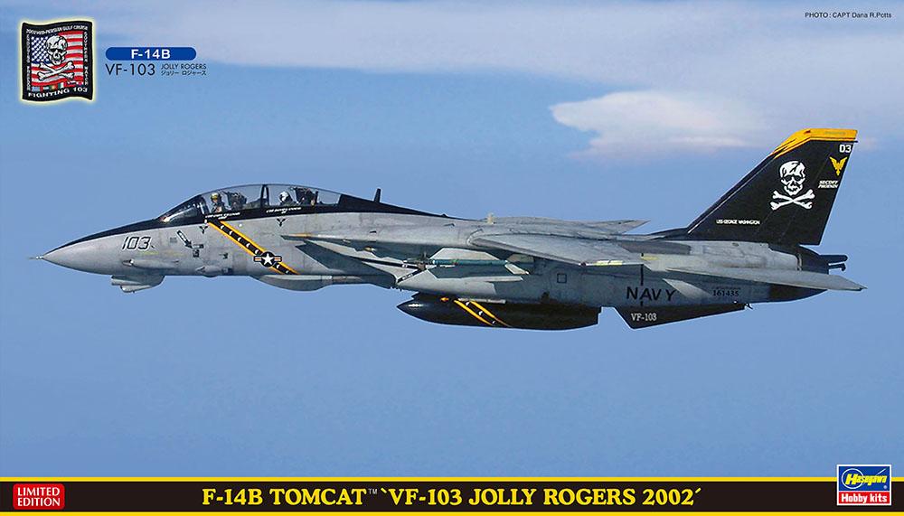 """Hasegawa 1/72 F-14B""""VF-103 Jolly Rogers"""" SP454"""