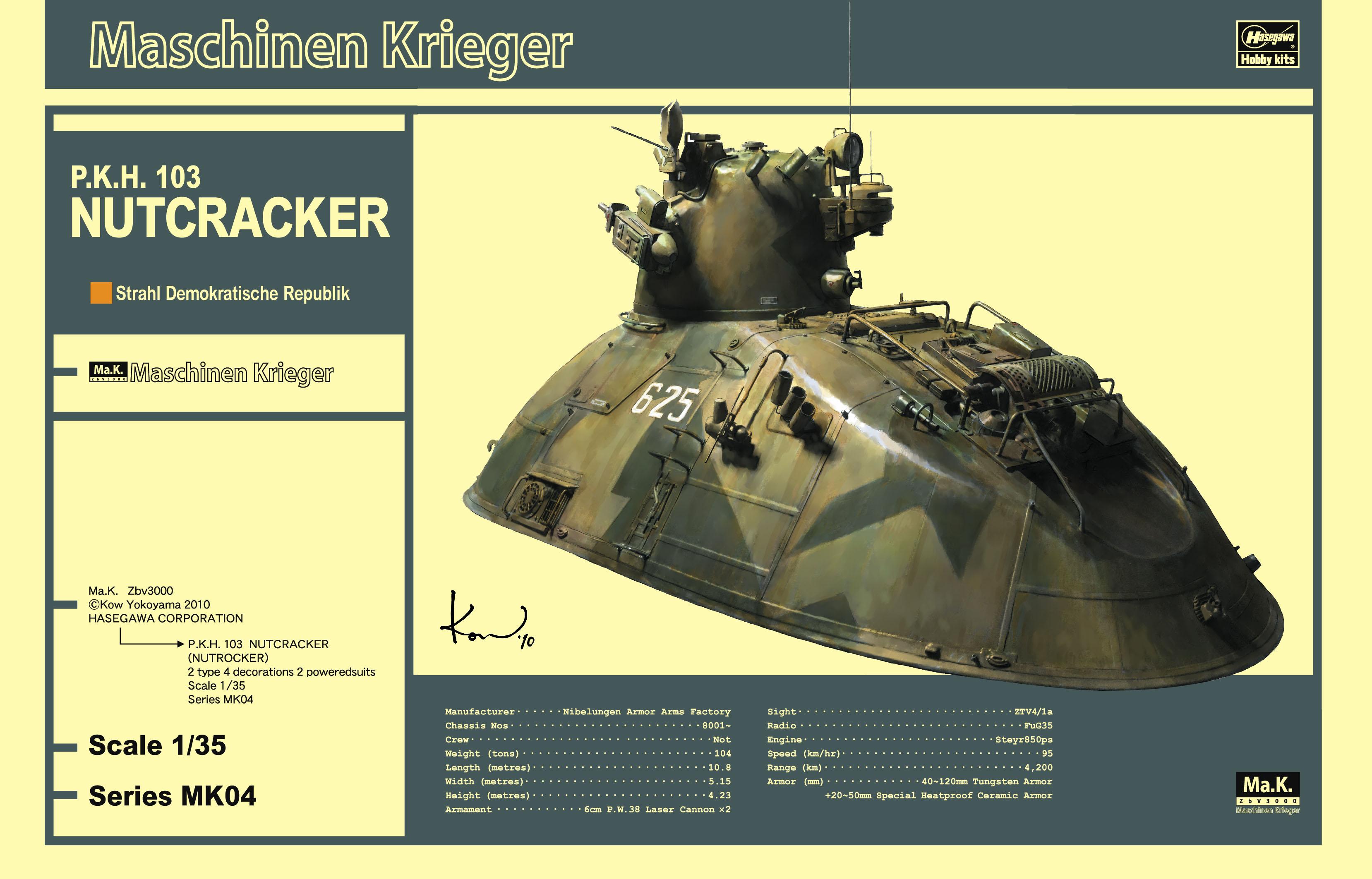 Hasegawa P.K.H. 103 Nutcracker MK04