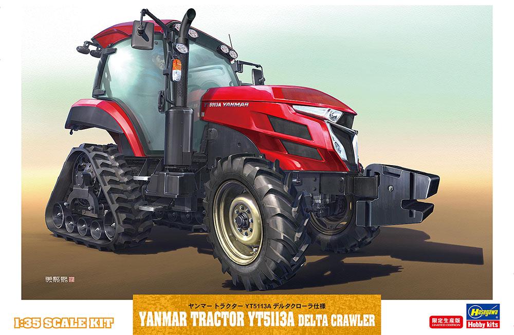 Hasegawa 1/35 Yanmar Tractor YT5113A