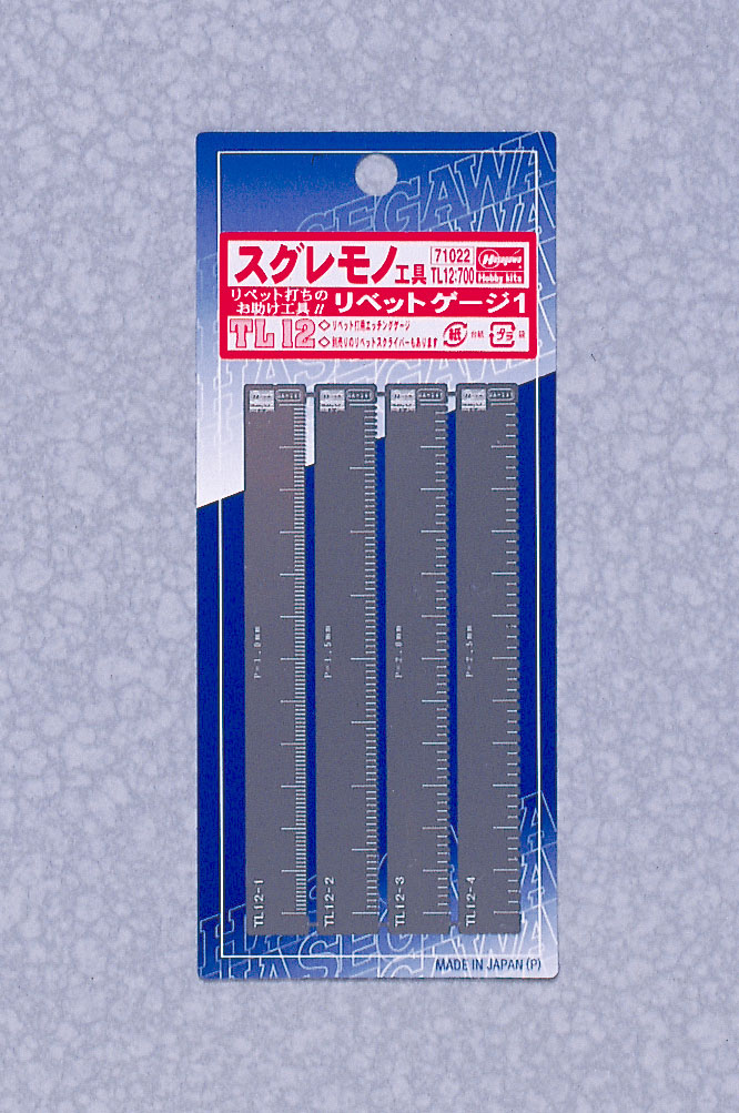 Hasegawa Rivet Gauge 1 ( For Straight Line )