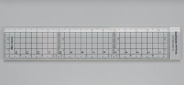 Hasegawa Cutting Scale (15Cm) (TT40)