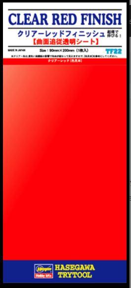 Hasegawa Clear Red Finish (TF22)