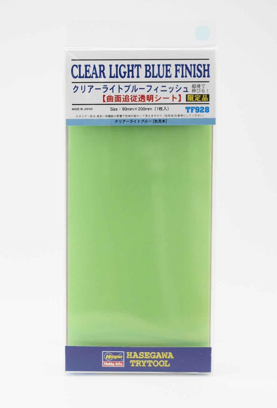 "Hasegawa ""Clear Light Blue Finish (Size: 90mm X 200mm)"""