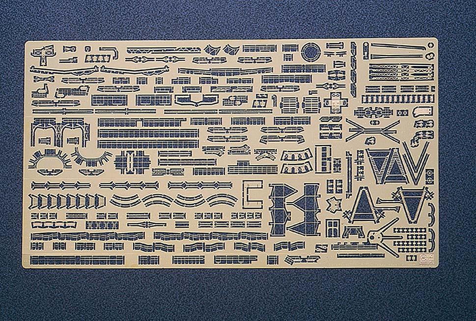 Hasegawa Ijn Battleship Nagato Detail Up Etching Parts Basic B QG16