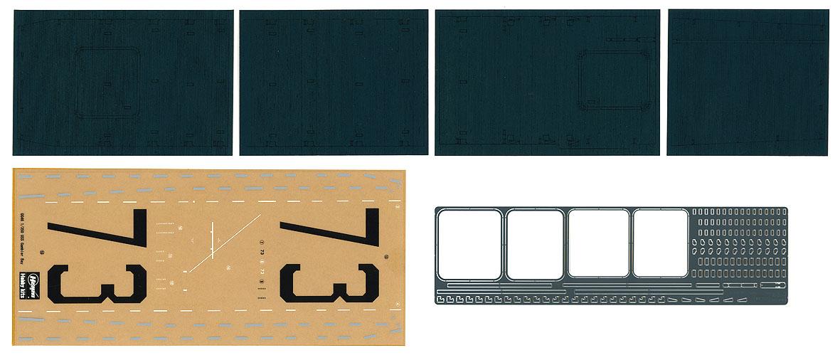 Hasegawa Wooden Deck For 1/350  Escort Carrier Uss Gambier Bay
