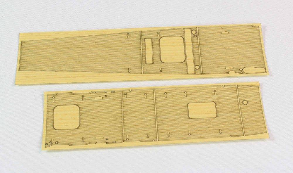 Hasegawa Wooden Deck For 1/700 Aircraft Carrier Akagi