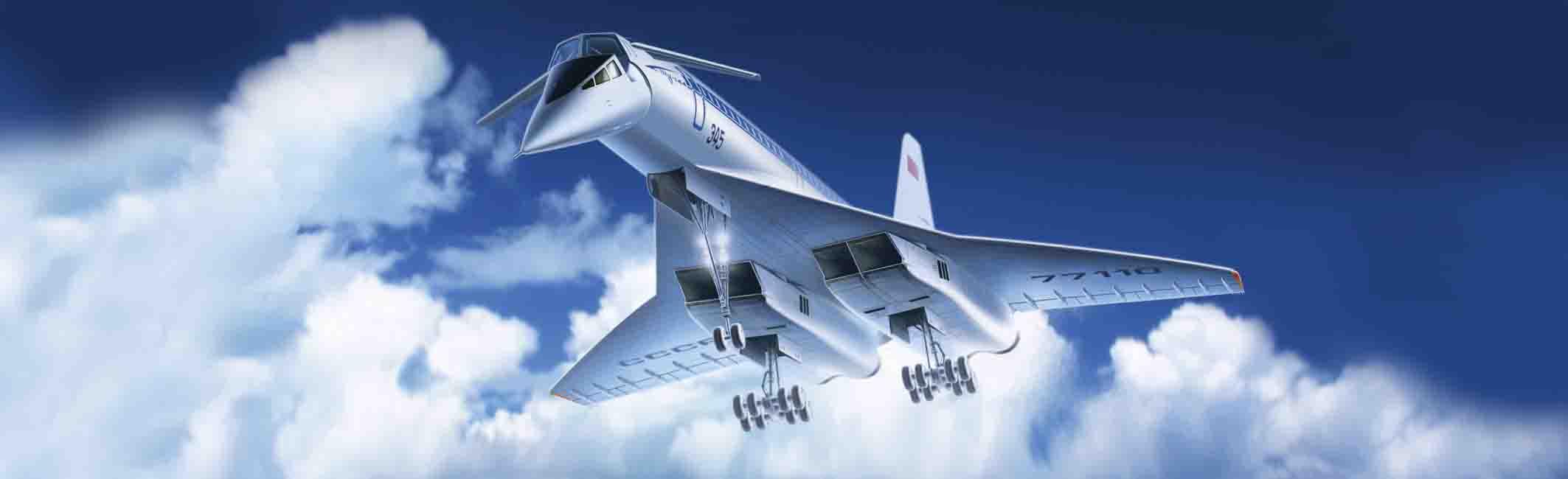 ICM Tupolev-144, Soviet Supersonic Passenger Aircraft