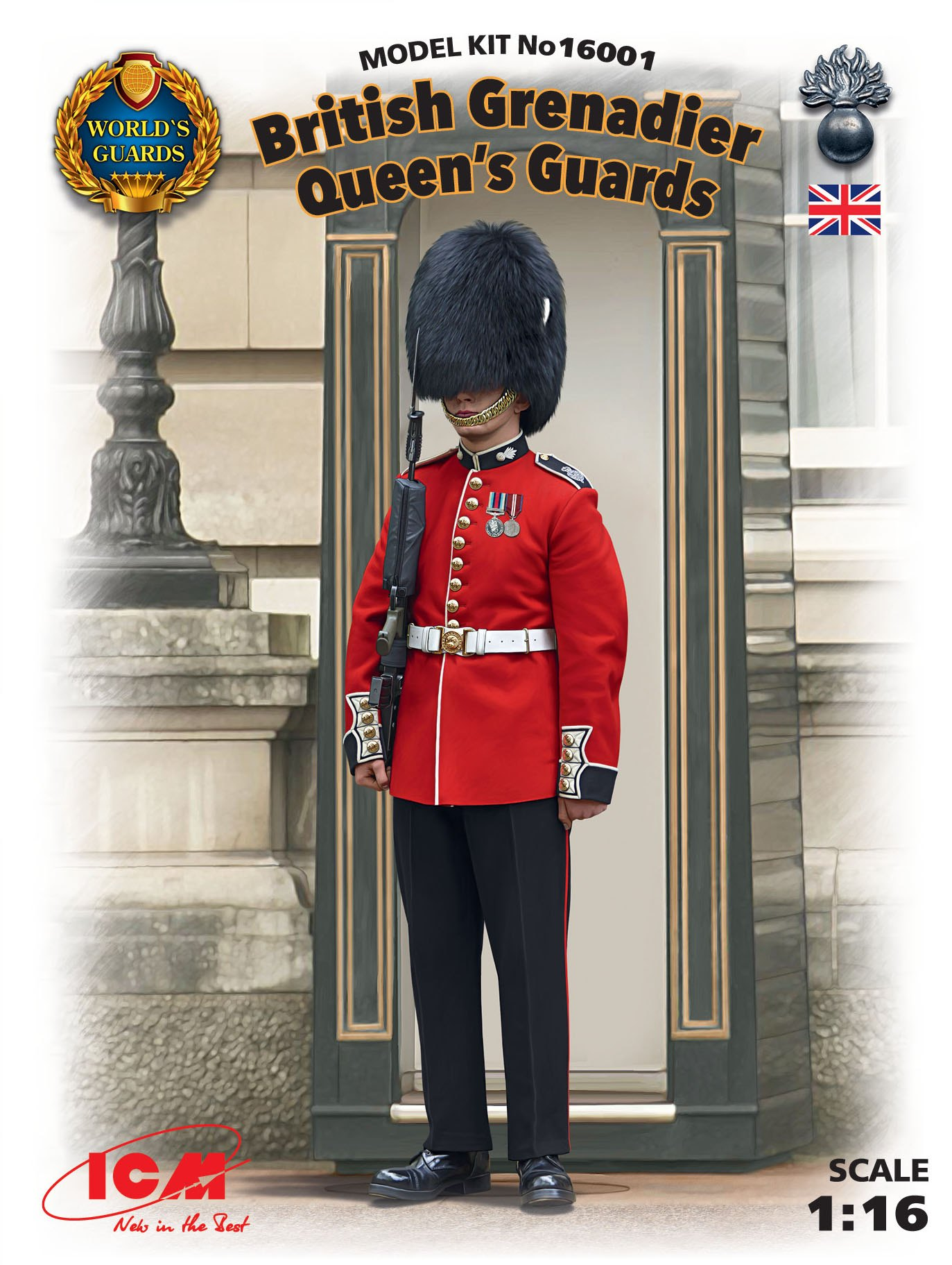 ICM British Grenadier Queen's Guards