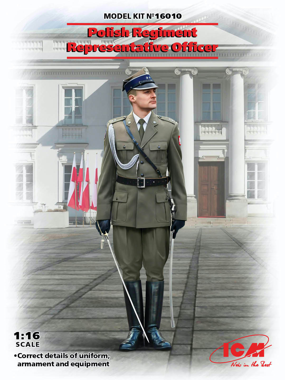 ICM Polish Regiment Representative Officer (100% new molds)