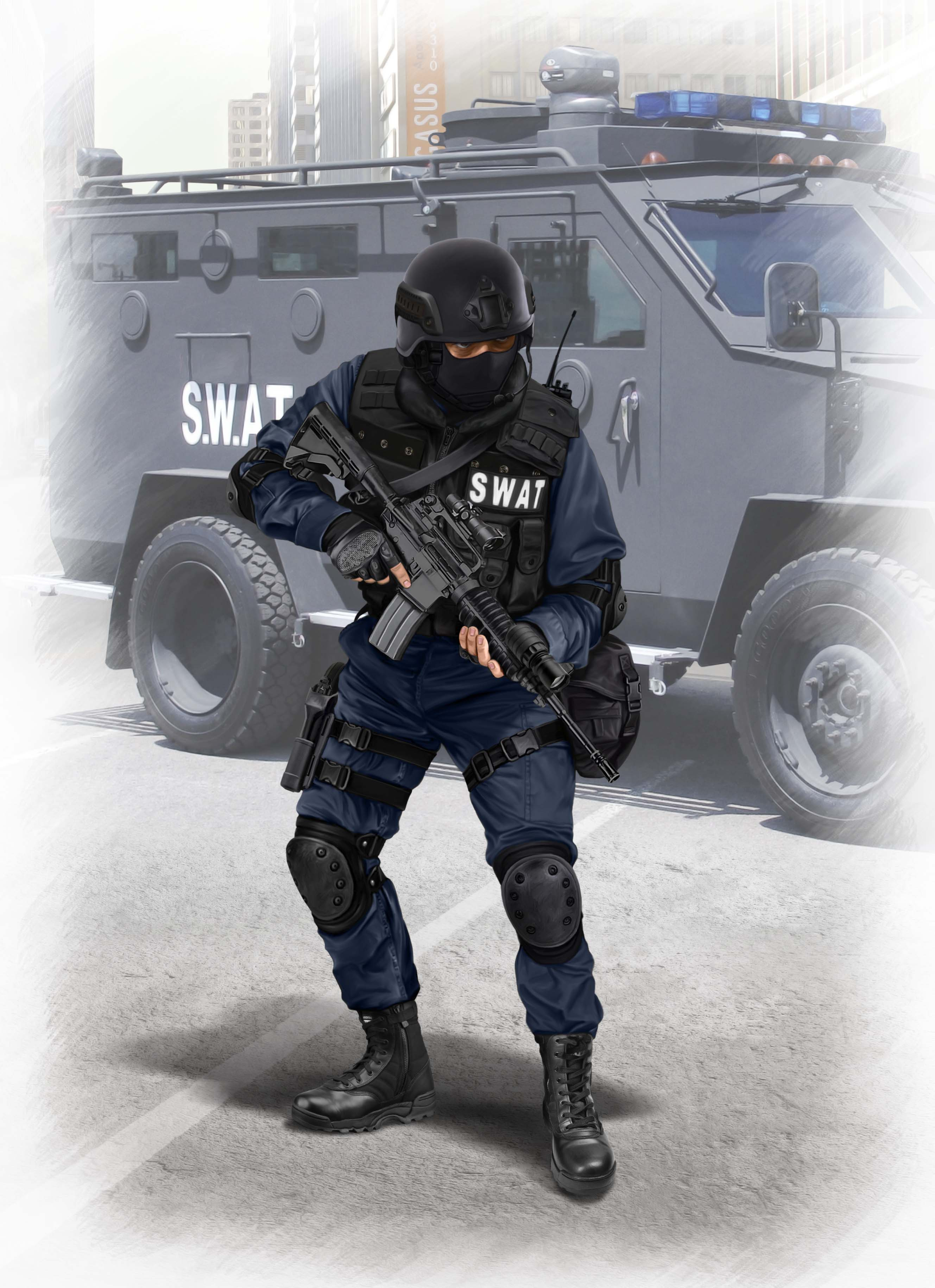 ICM S.W.A.T. Team Leader