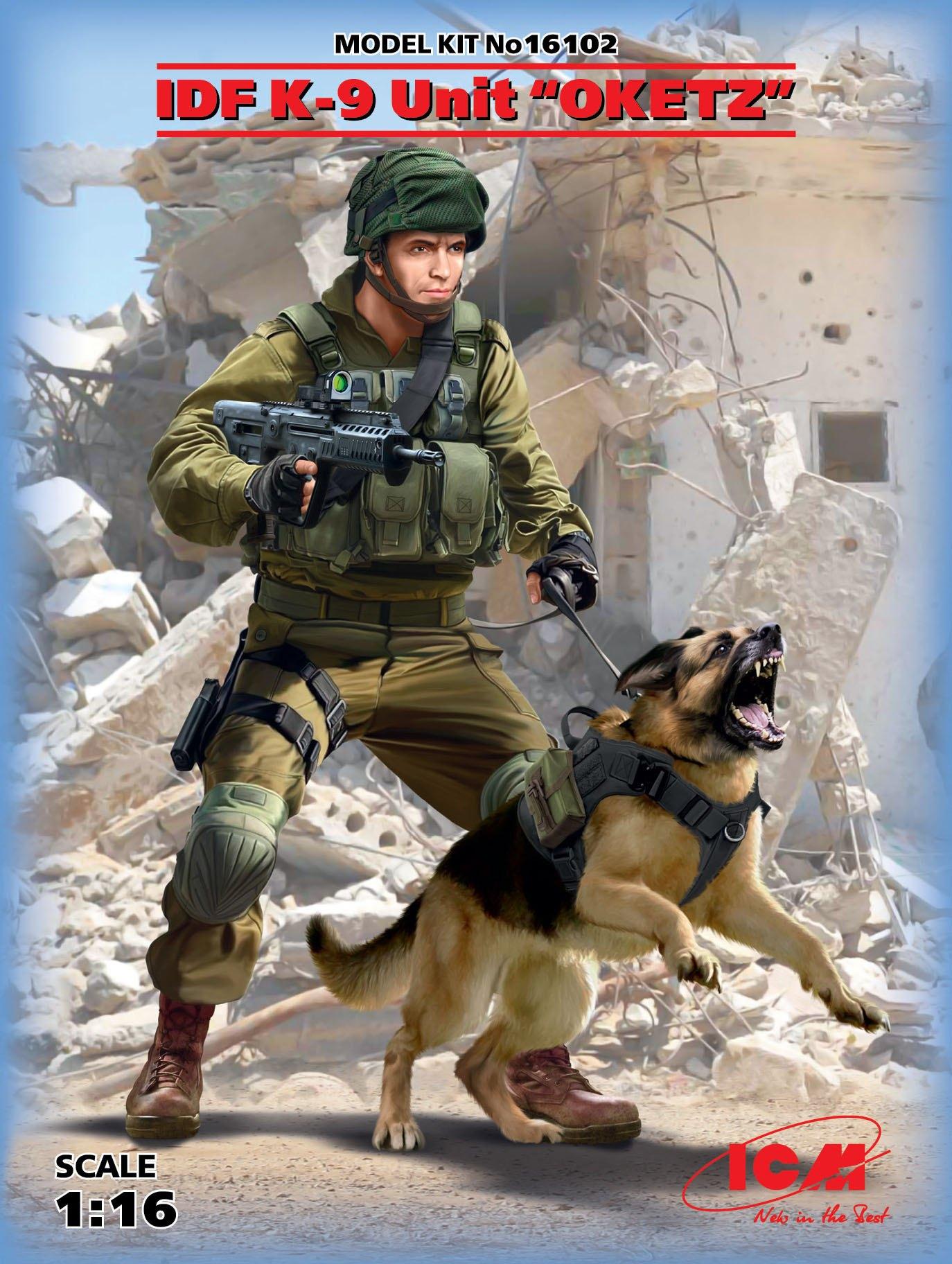 "ICM IDF K-9 Unitz ""OKETZ"" (100% new molds)"