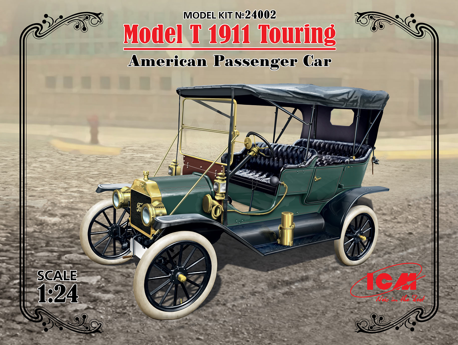 ICM Model T 1911 Touring, American Passenger Car
