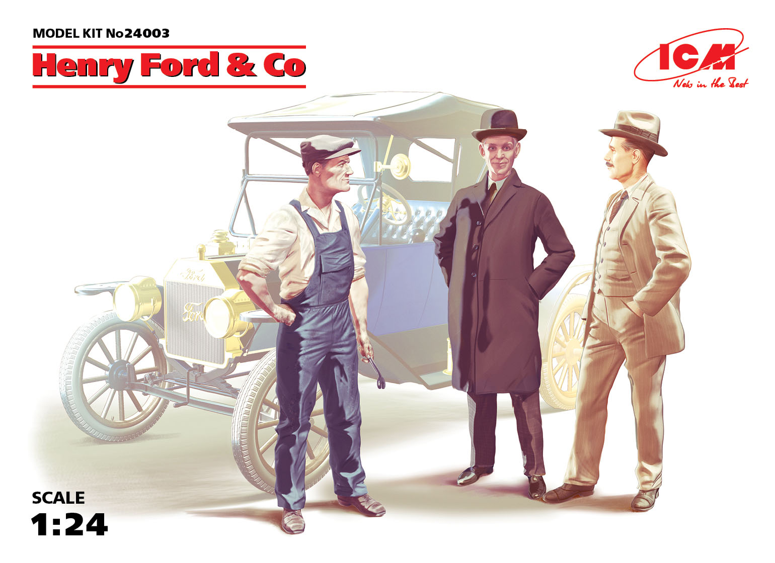 ICM Henry Ford & Co (3 figures)