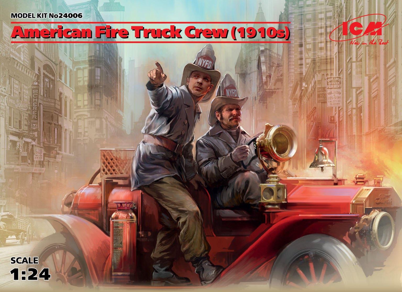 ICM American Fire Truck Crew (1910s) (2 figures)