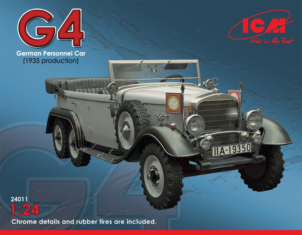ICM Typ G4 (1935 production), German Personnel Car