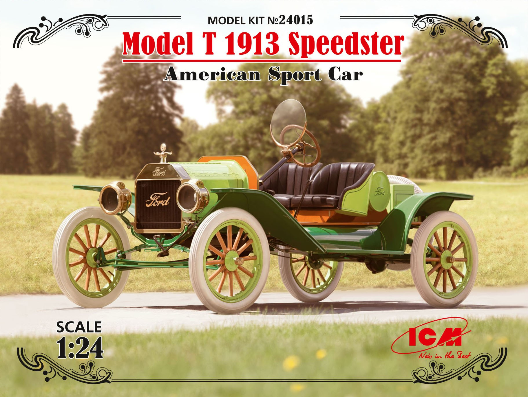 ICM Model T 1913 Speedster, American Sport Car