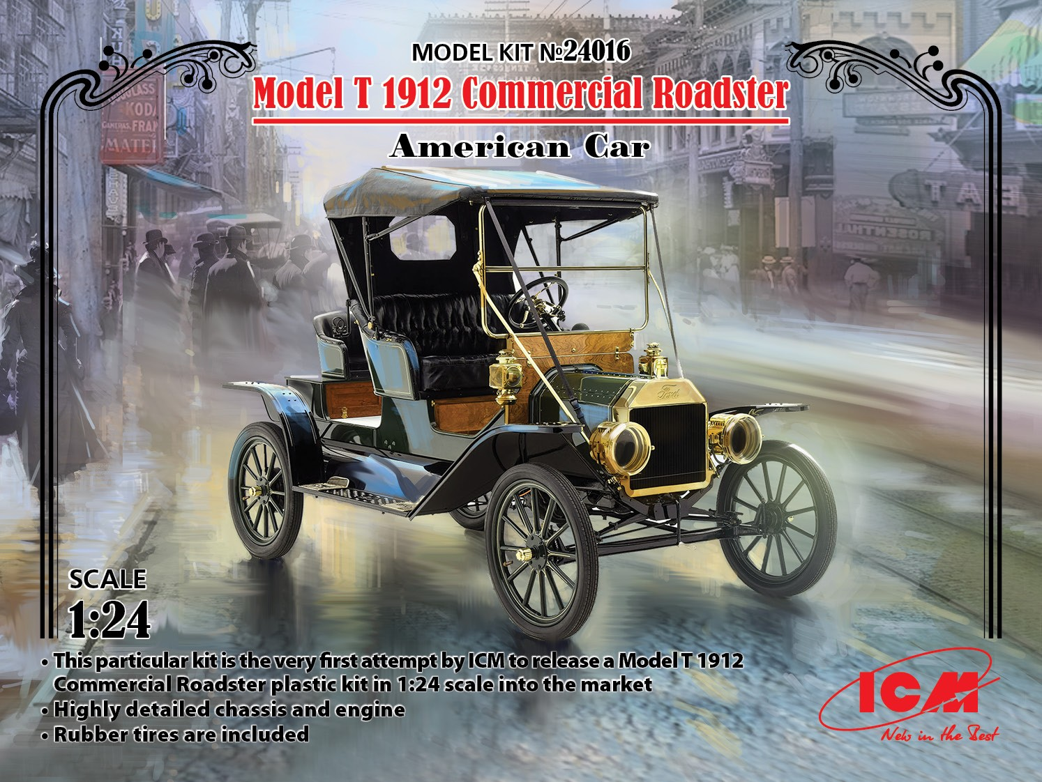 ICM Model T 1912 Commercial Roadster, American Car
