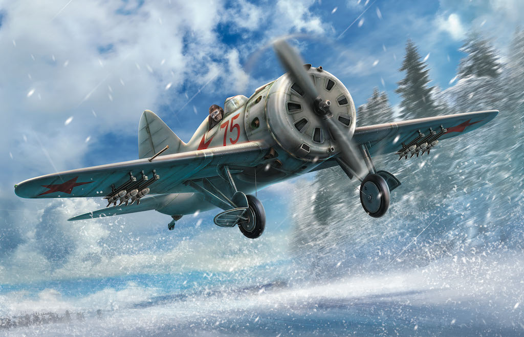 ICM I-16 type 29, WWII Soviet Fighter