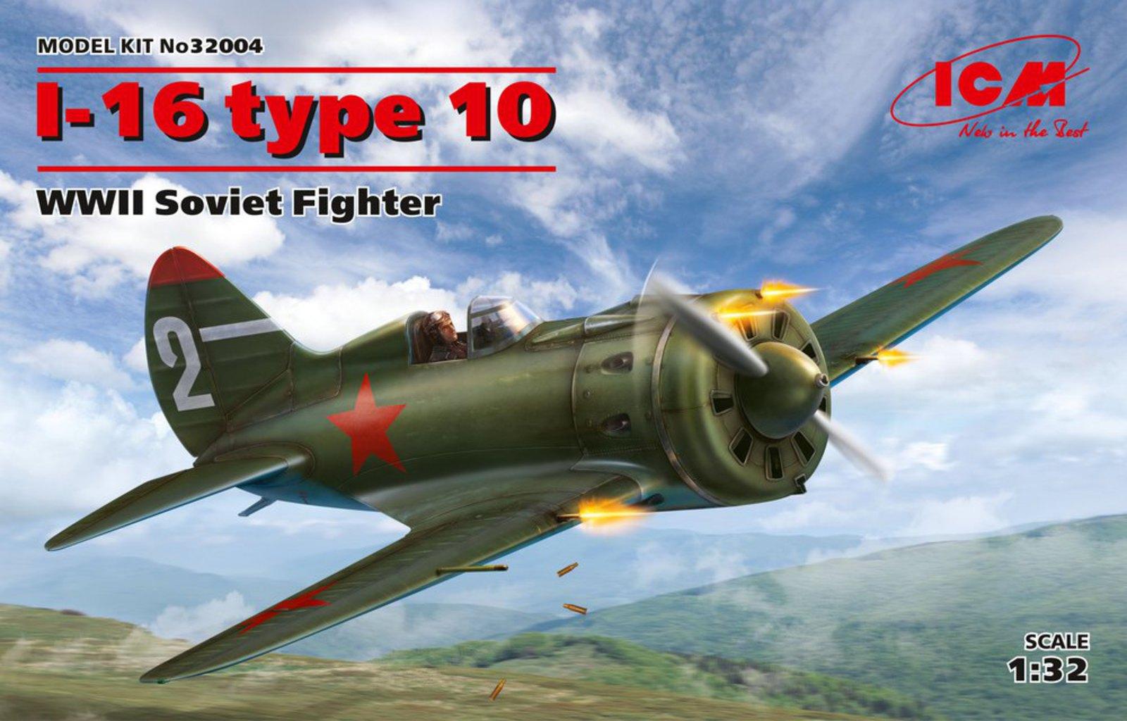 ICM I-16 type 10, WWII Soviet Fighter