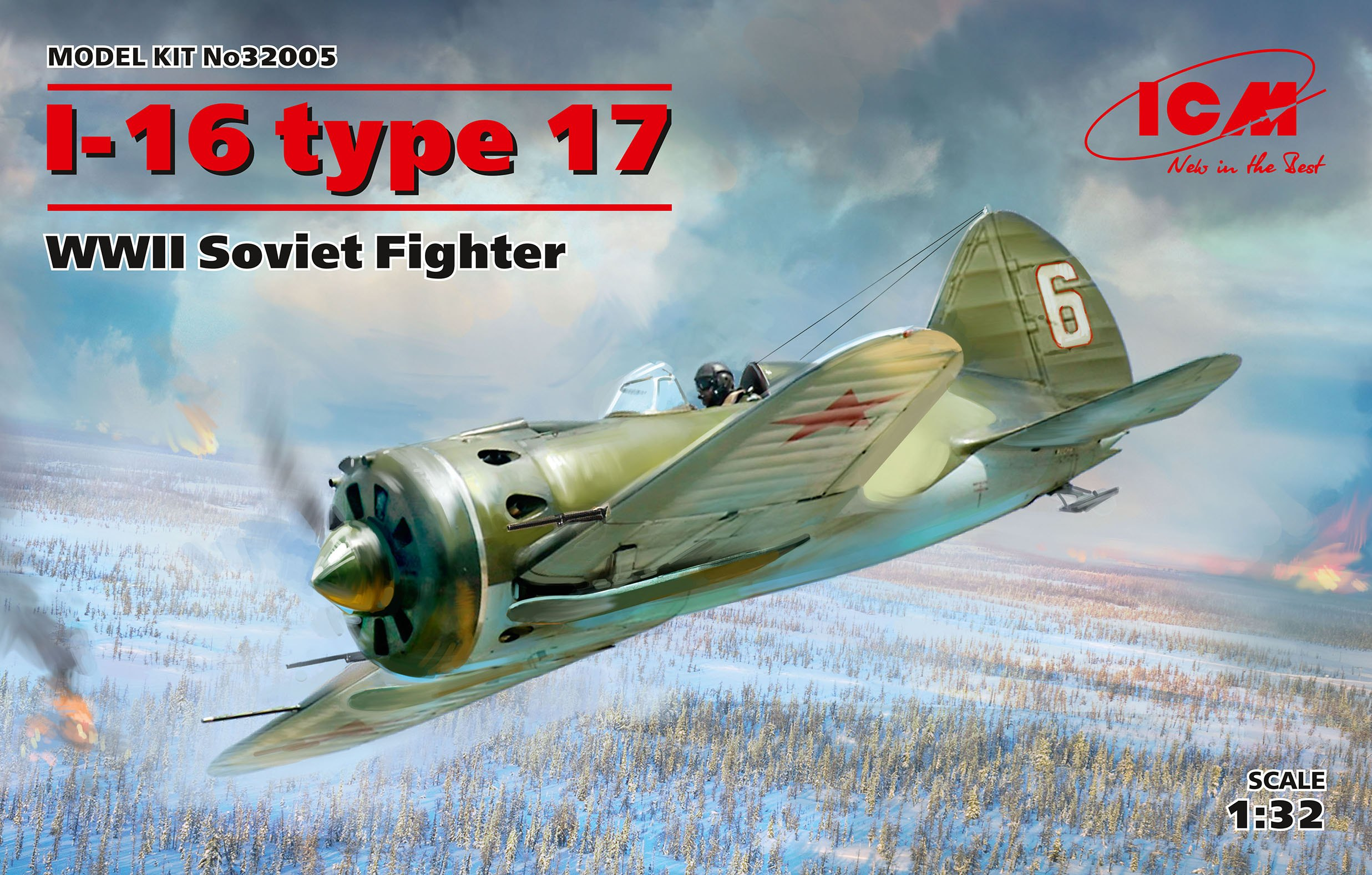 ICM I-16 type 17, WWII Soviet Fighter