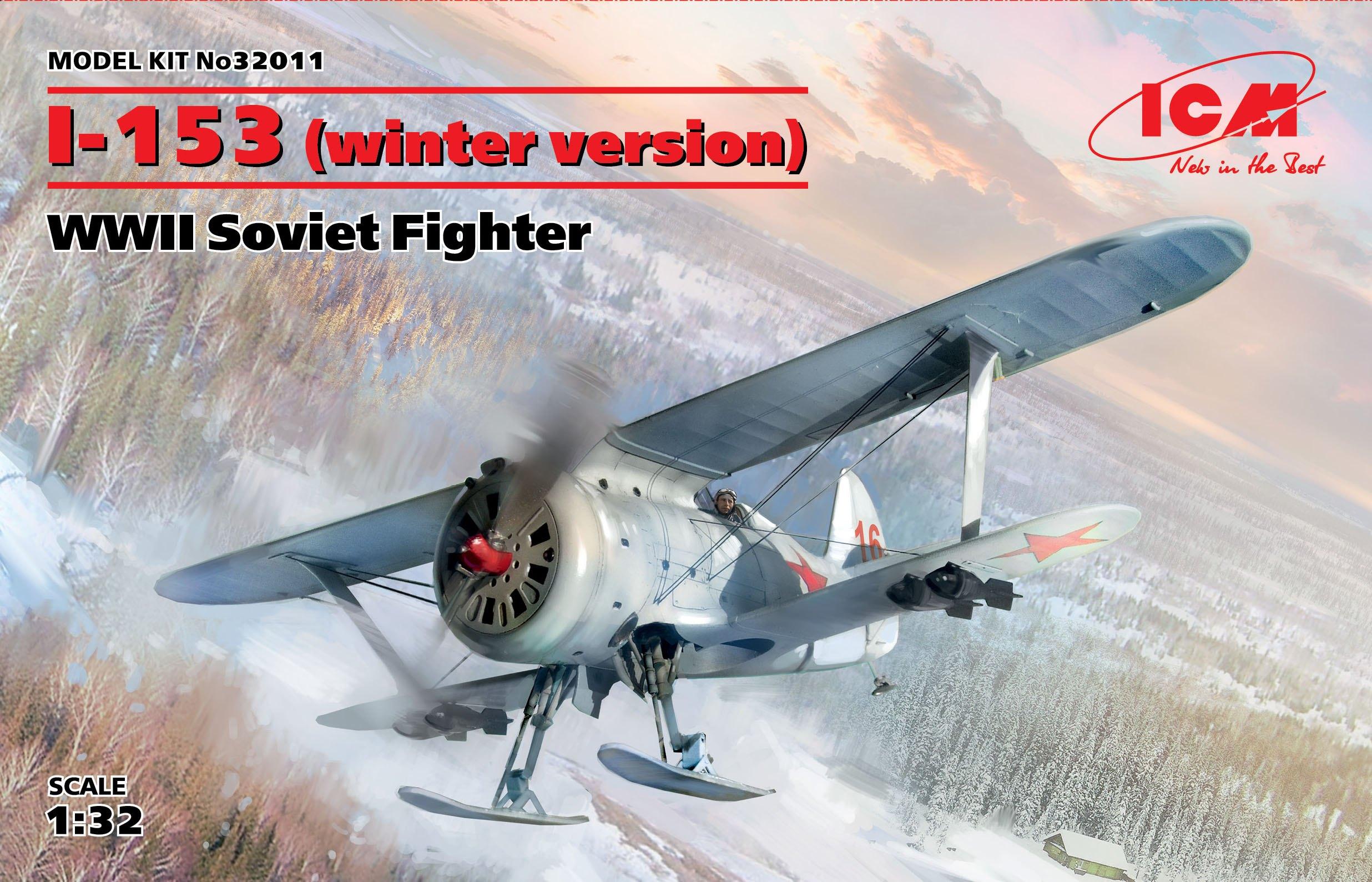 ICM I-153 (winter version), WWII Soviet Fighter