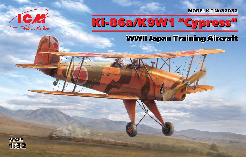 """ICM Ki-86a/K9W1 """"Cypress"""", WWII Japan Training Aircraft"""