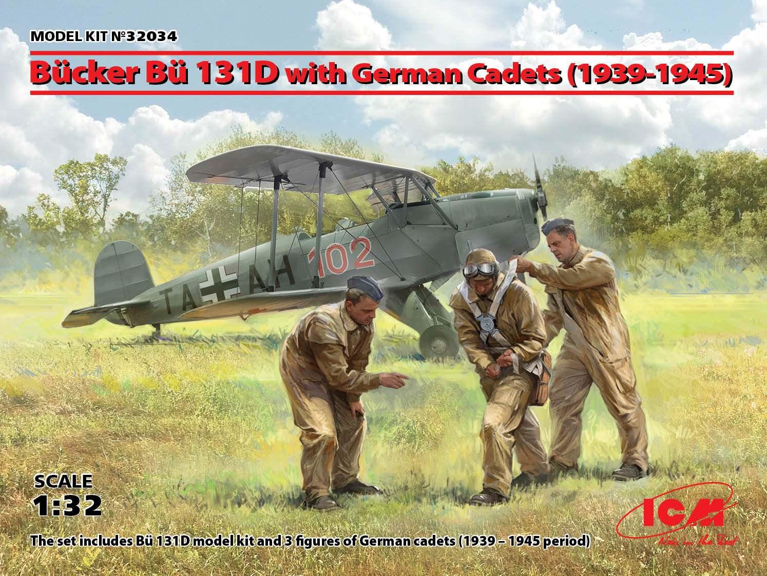 ICM Bücker Bü 131D with German Cadets (1939-1945)