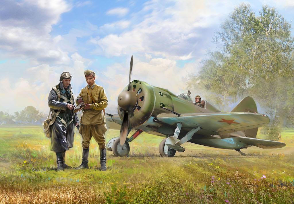 ICM VVS RKKA Pilots (1939-1942) (3 figures)