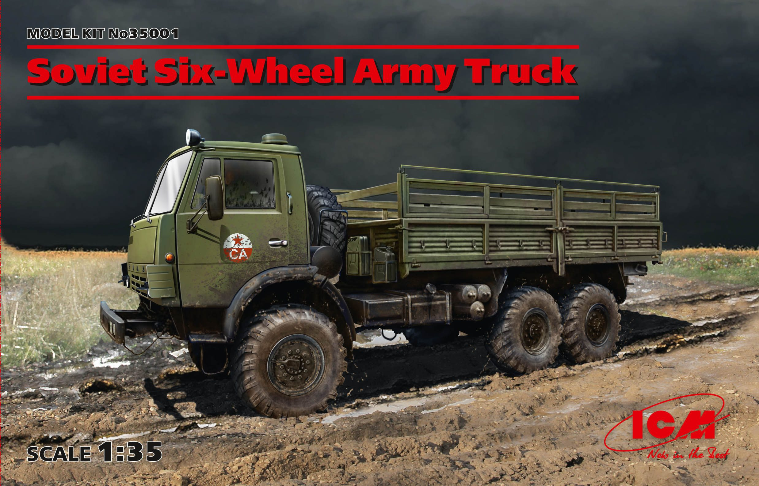 ICM Soviet Six-Wheel Army Truck