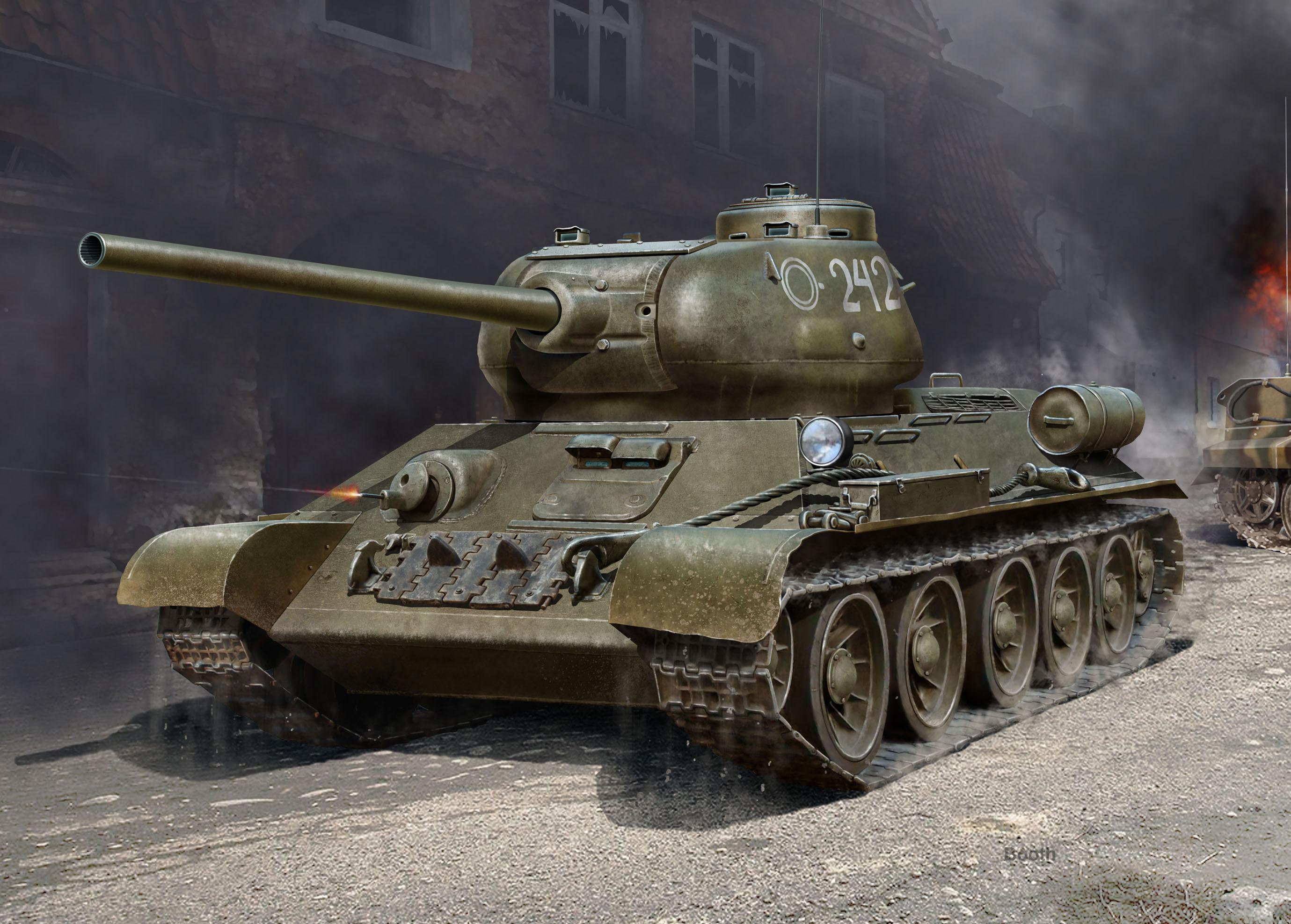 ICM _-34-85, WWII Soviet Medium Tank