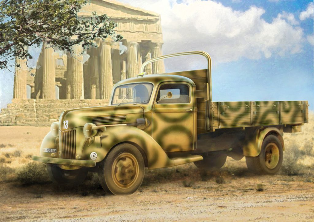 ICM 1/35 V3000S (1941 production) , German Army Truck