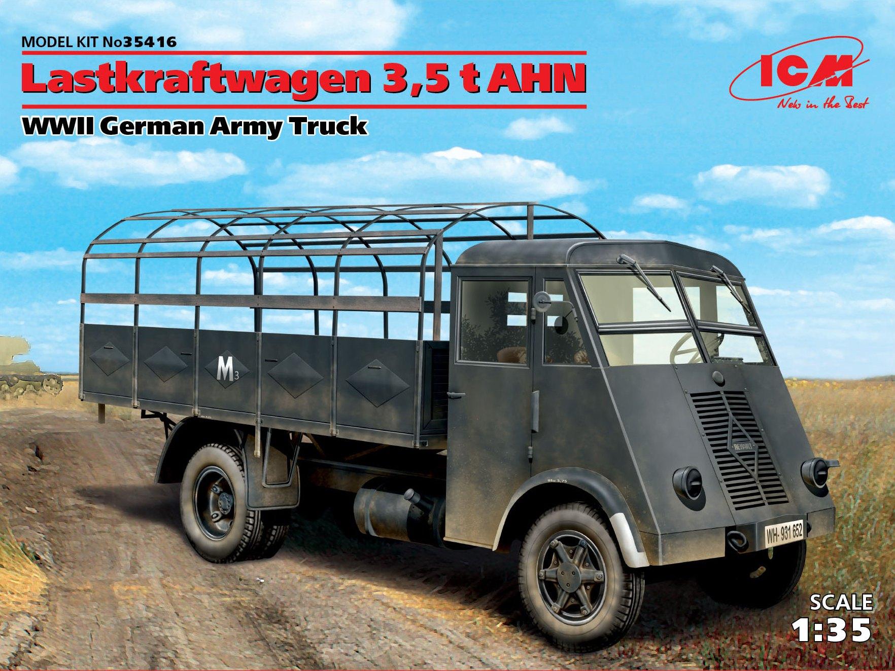 ICM Lastkraftwagen 3,5 t AHN, WWII German Army Truck