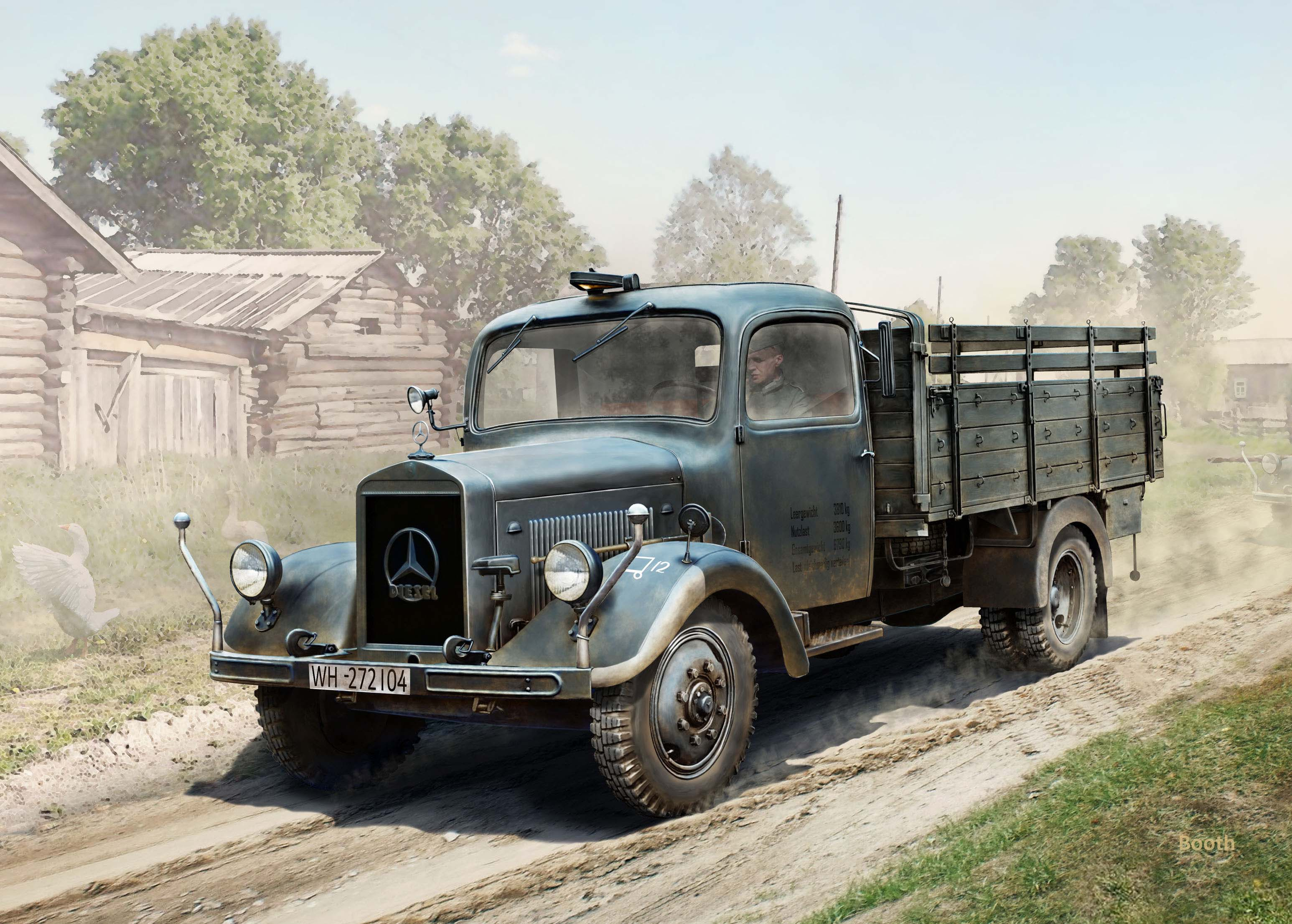 ICM 1/35 Typ L3000S, WWII German Truck