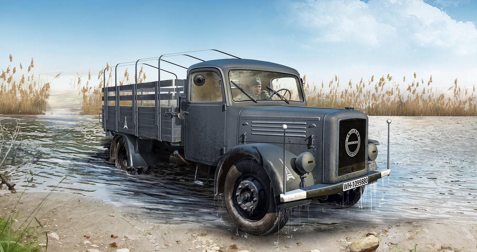 ICM KHD S3000, WWII German Army Truck