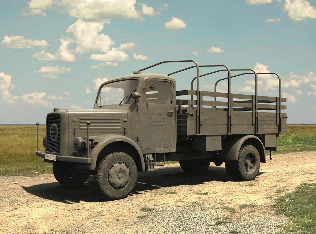 ICM KHD A3000, WWII German Truck