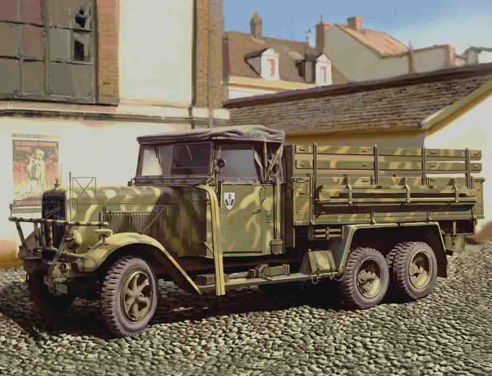 ICM Henschel 33 D1, WWII German Army Truck