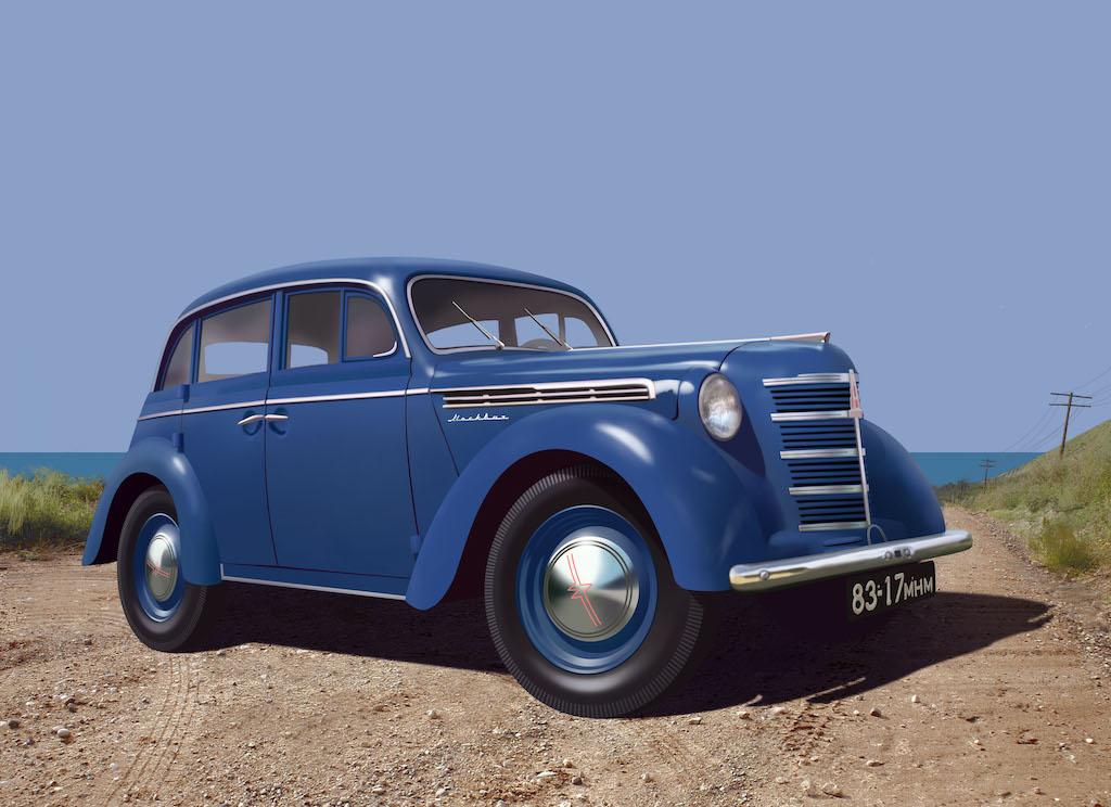 ICM Moskvitch-401-420 Saloon, Soviet Passenger Car