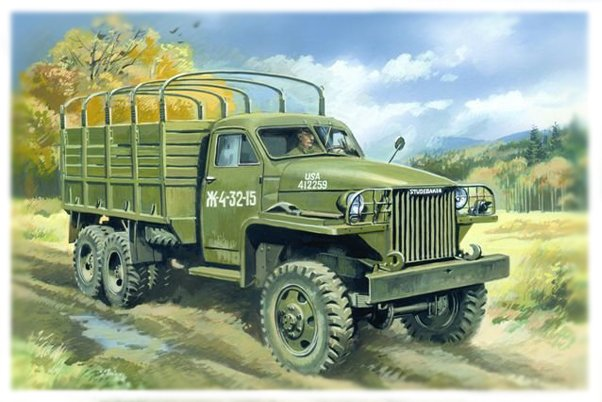 ICM Studebaker US6, WWII Army Truck