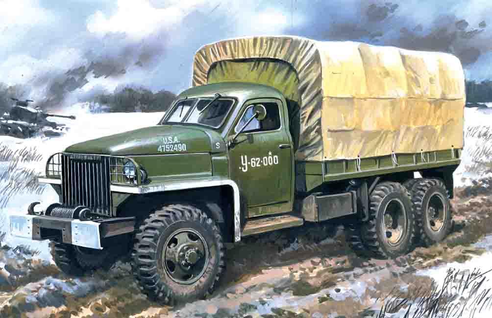 ICM 1/35 Studebaker US6 U4, WWII Army Truck