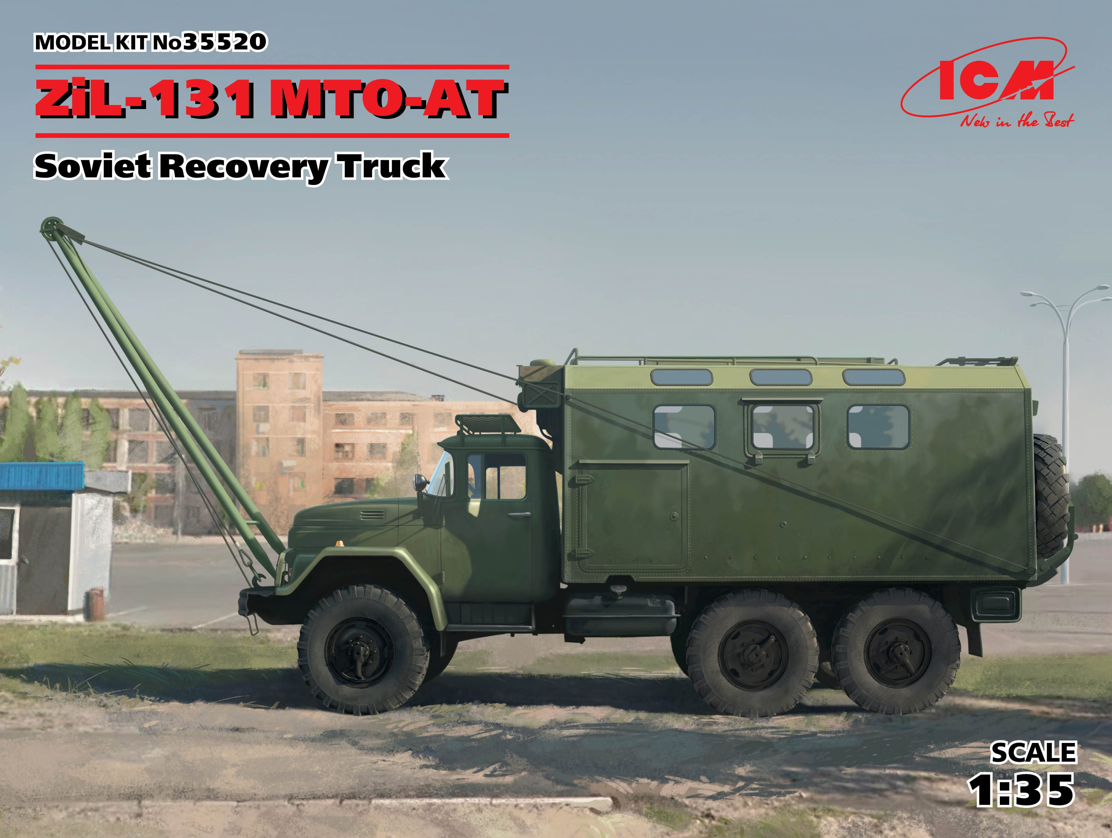 ICM 1/35 ZiL-131 MTO-AT, Soviet Recovery Truck