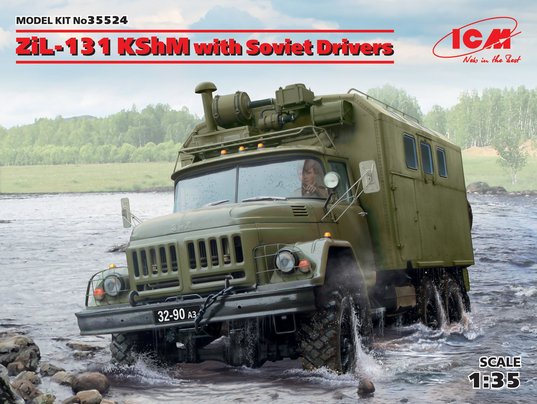 ICM ZiL-131 KShM with Soviet Drivers