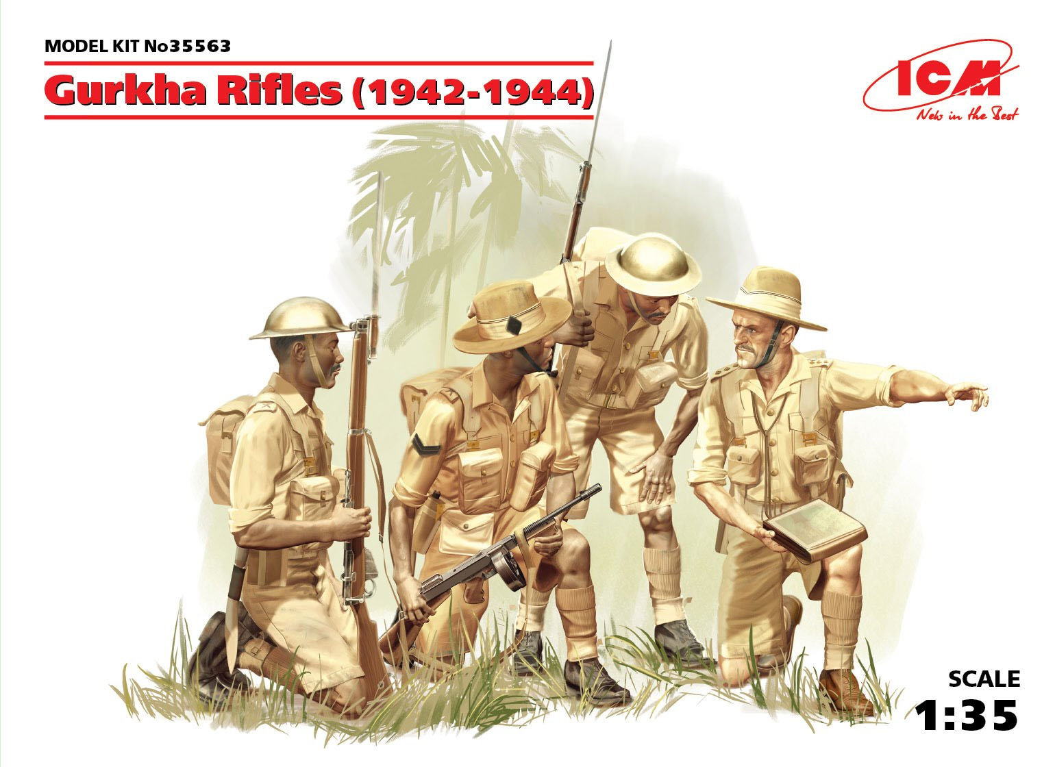 ICM Gurkha Rifles (1944) (4 figures)
