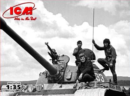 ICM Soviet Tank Crew (1979-1988) (3 tankmen)