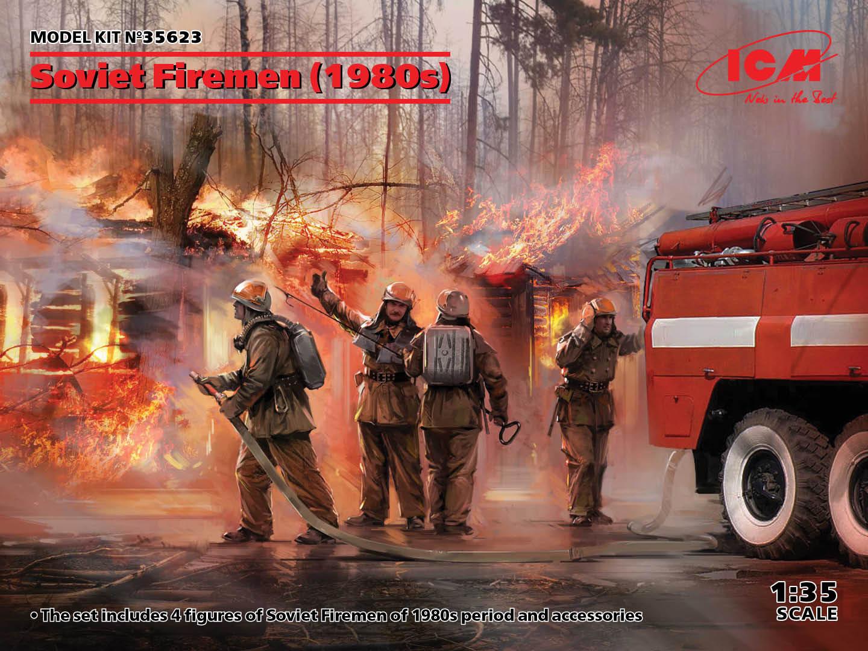 ICM 1/35 Soviet Firemen (1980s)