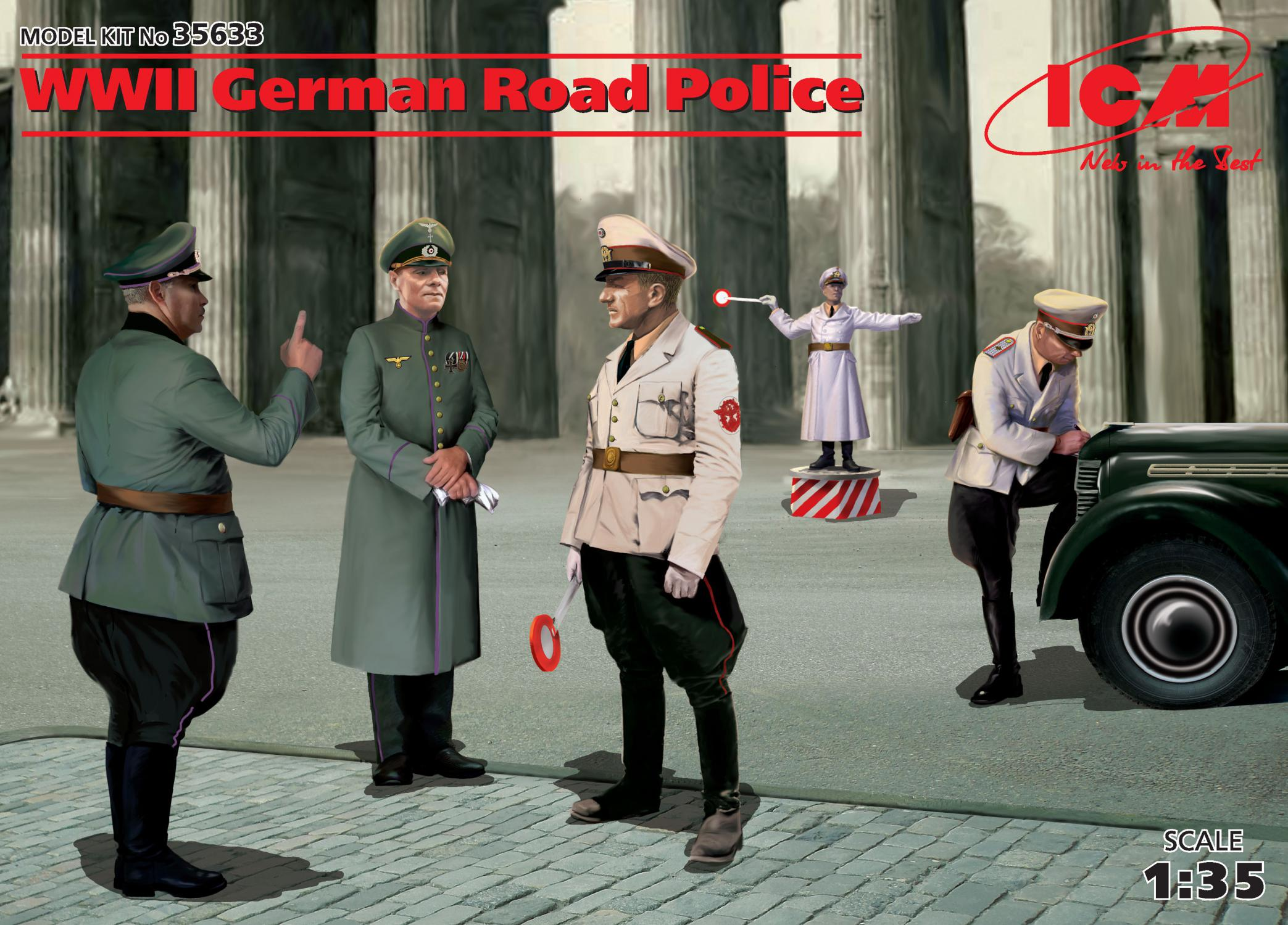 ICM WWII German Road Police (5 figures)