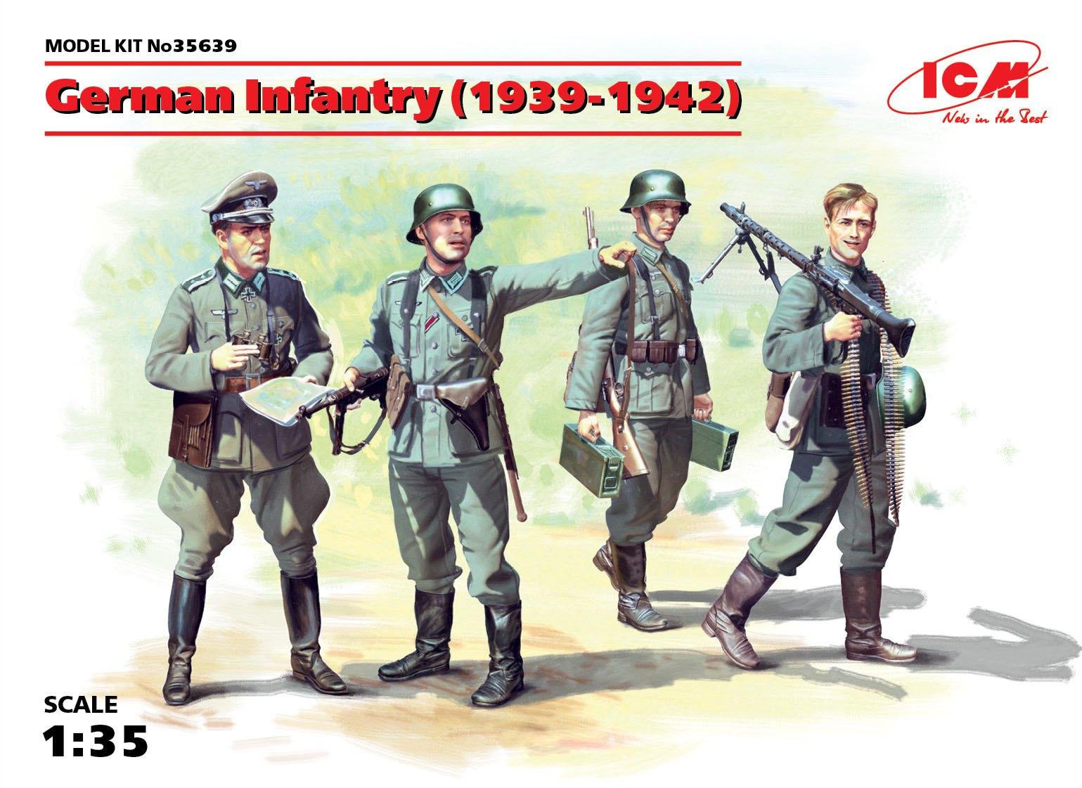 ICM German Infantry (1939-1942) (4 figures)