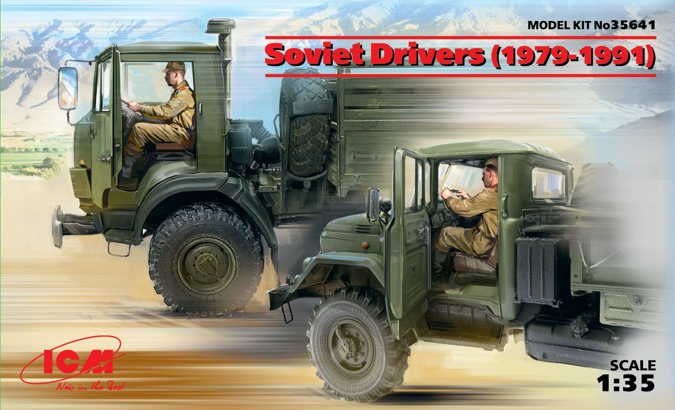 ICM Soviet Drivers (1979-1991) (2 figures)