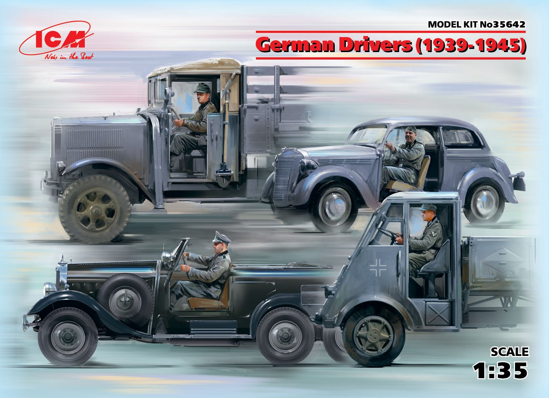 ICM German Drivers (1939-1945) (4 figures)