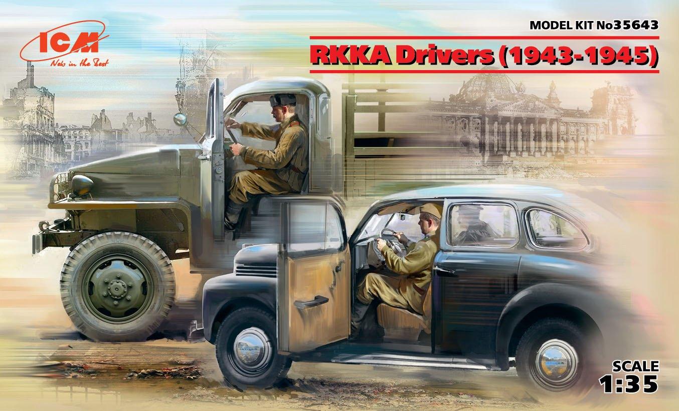 ICM RKKA Drivers (1943-1945) (2 figures)